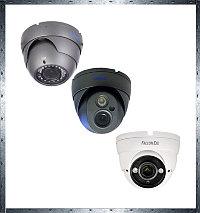 AHD видеокамеры купольные