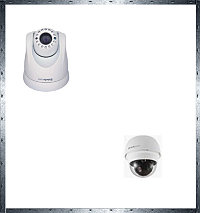 Поворотные сетевые камеры