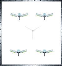 Кронштейны освещения углового типа КУ3