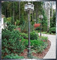 Декоративное освещение скверов и парков