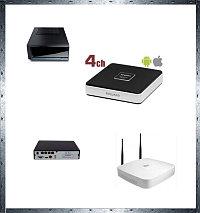 IP видеорегистратор 4 канала
