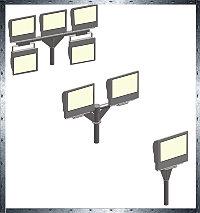 Кронштейны Серия 14 - Кронштейны для прожекторов Т-образные