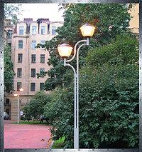 Опоры стальные для декоративного уличного освещения ОСС, ОССв, ОС, ОСК, ОСФ, ОСБФ