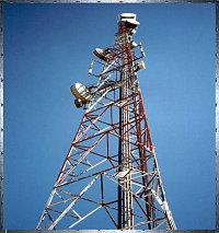 Многогранные опоры радиорелейной и сотовой связи - РС
