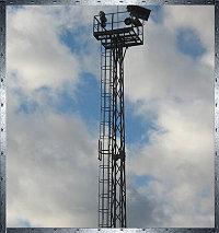 Прожекторные мачты с площадкой тип TA/12