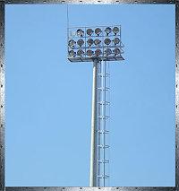Прожекторные мачты с площадкой тип BO16