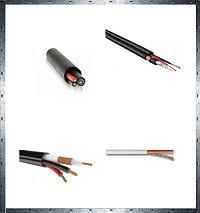 Кабели комбинированные для систем видеонаблюдения